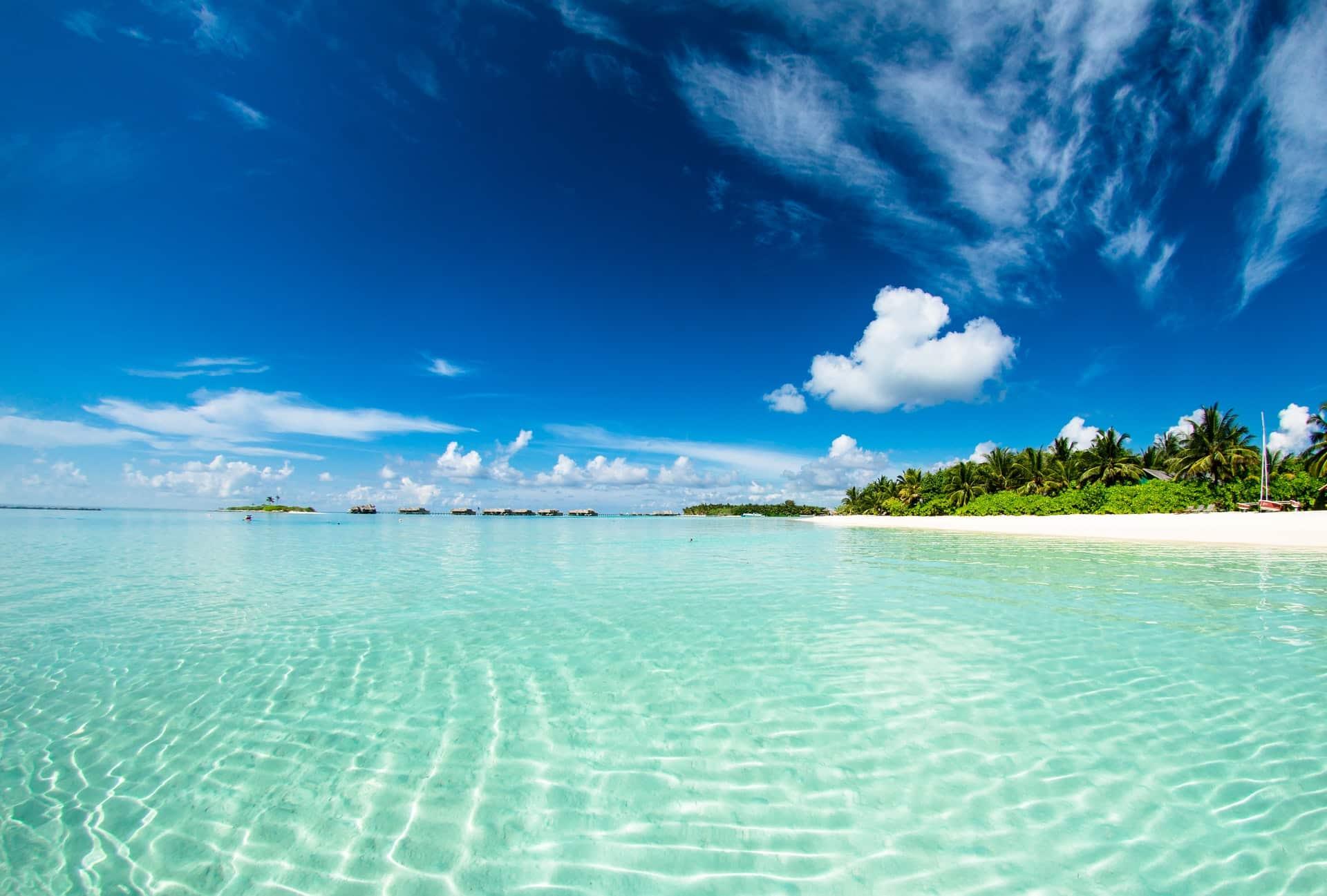 Playas en Maldivas